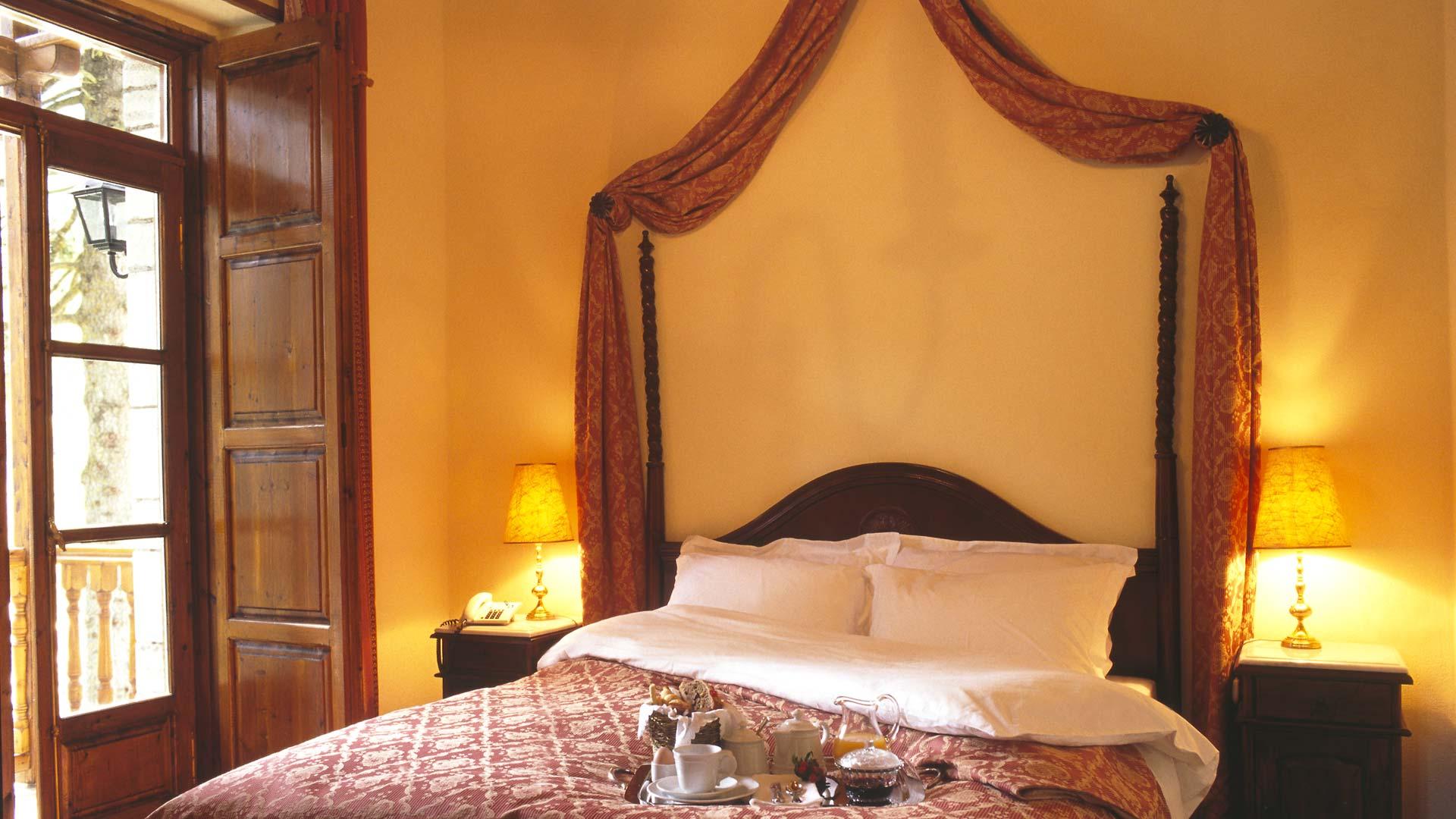 Junior Suite στο ξενοδοχείο Αρχοντικό Χατζηγάκη στο Περτούλι, Ελάτη
