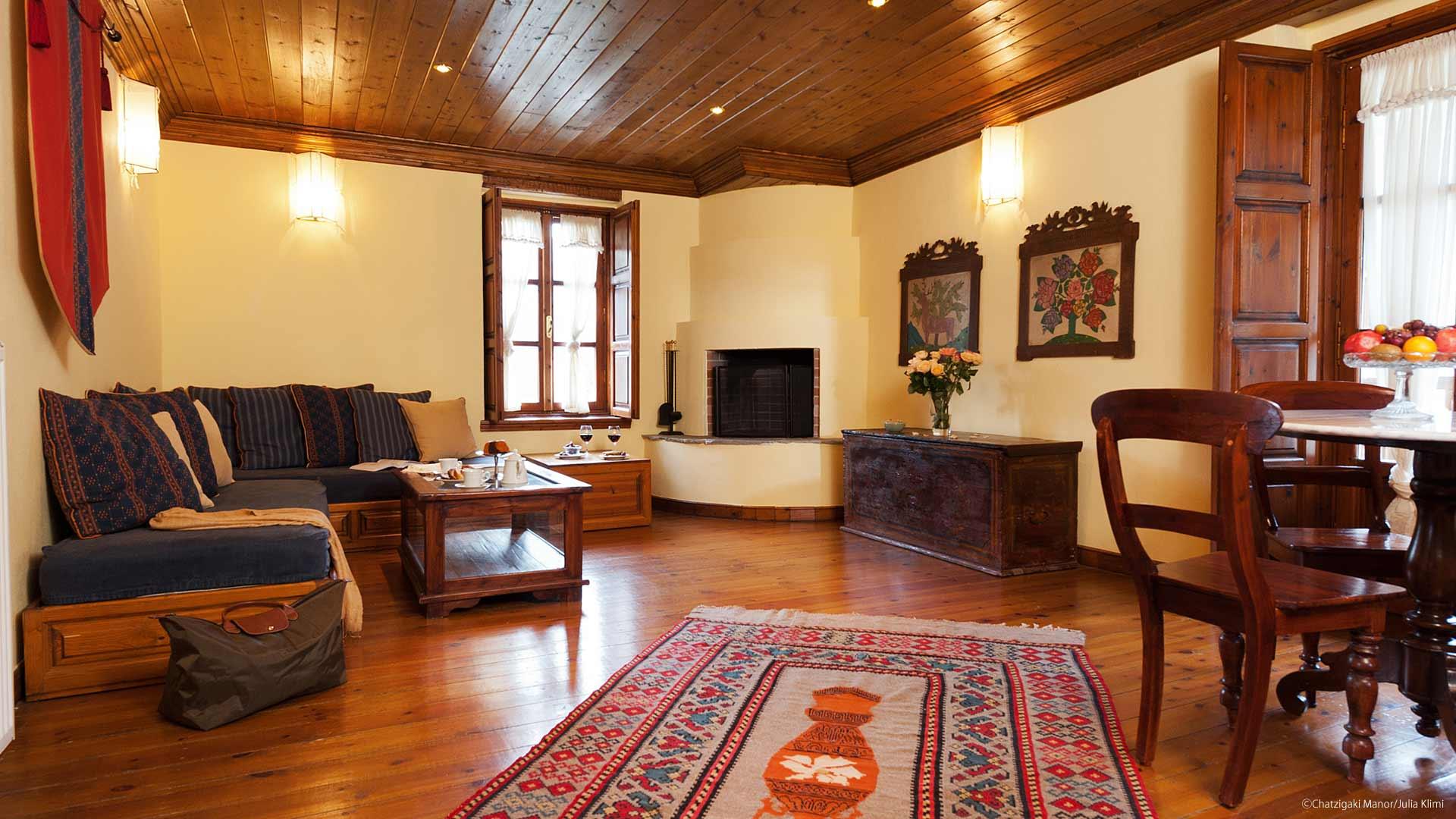 Garden Residence Suite στο ξενοδοχείο Αρχοντικό Χατζηγάκη στο Περτούλι