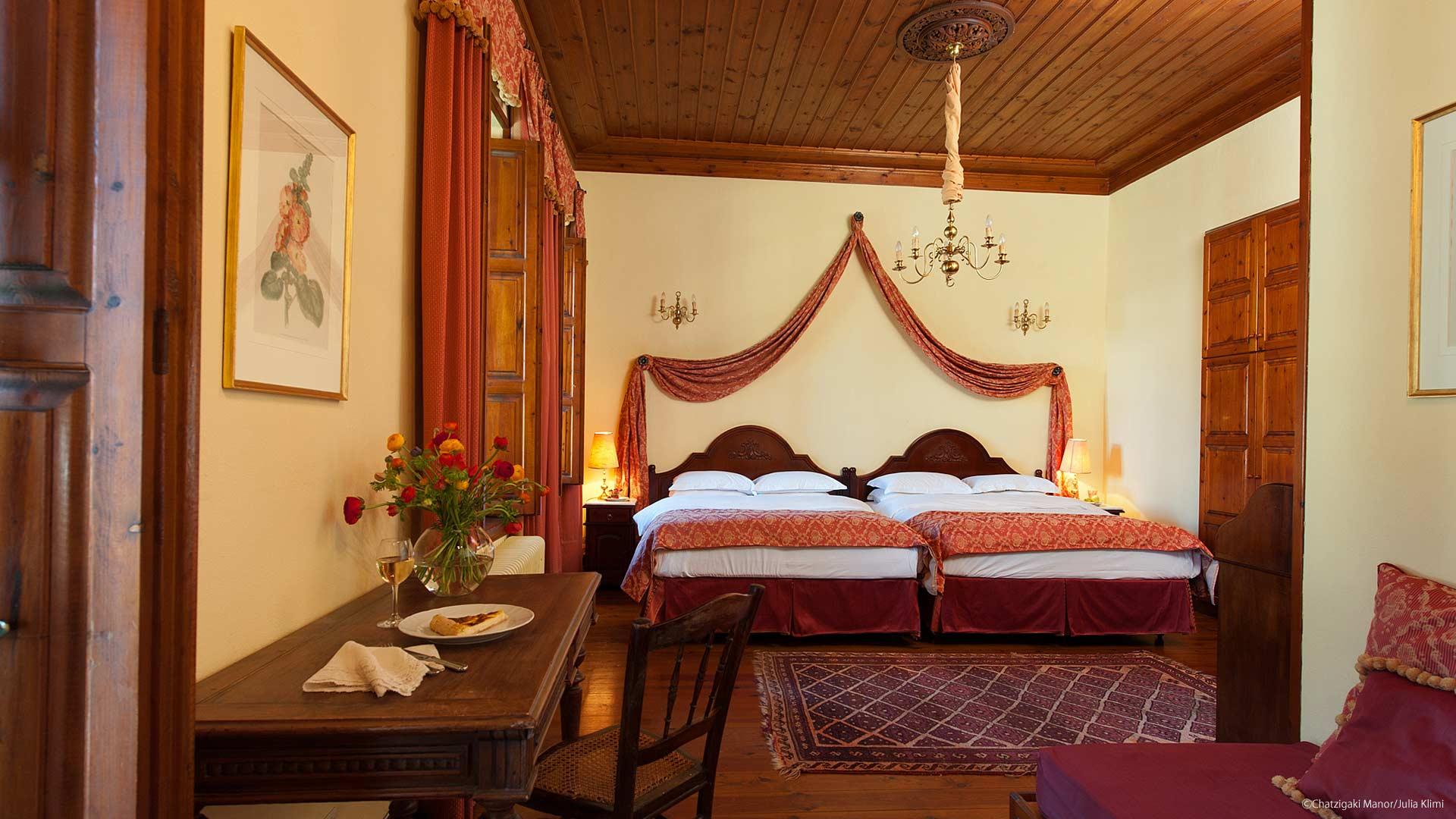 Prestige rooms Αρχοντικό Χατζηγάκη Περτούλι