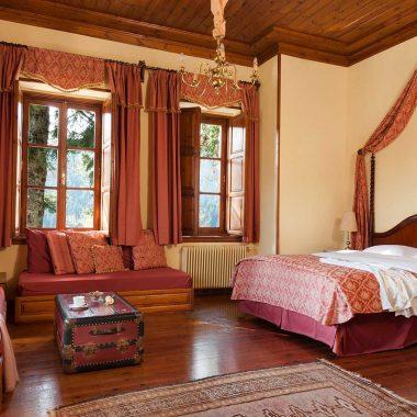 Deluxe rooms Αρχοντικό Χατζηγάκη, Περτούλι