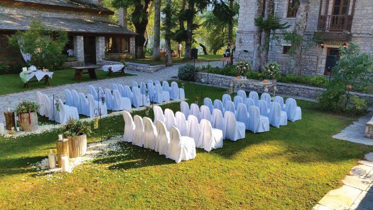 Πολιτικός γάμος στο κτήμα του Αρχοντικού Χατζηγάκη