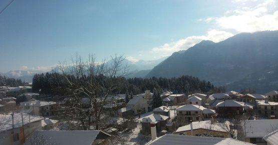 Το χωριό Ελάτη κοντά στο ξενοδοχείο Αρχοντικό Χατζηγάκη