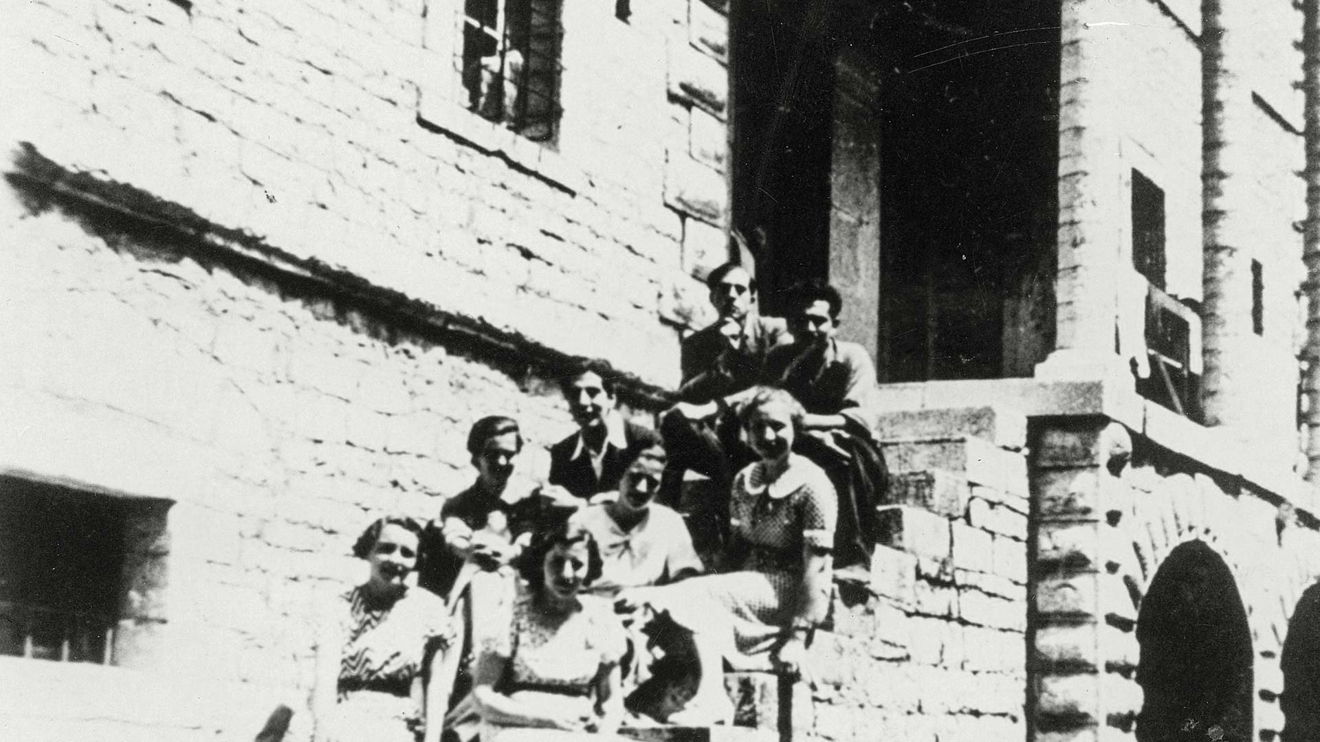 Ιστορία κτιρίου παλιά φωτογραφία