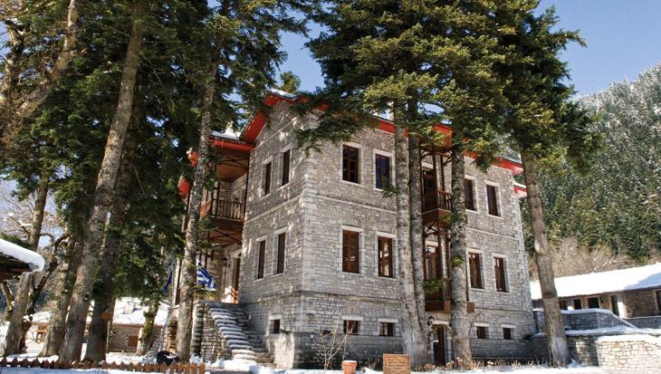 Ξενοδοχείο Αρχοντικό Χατζηγάκη κυρίως κτίριο