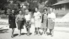 Αναμνηστική φωτογραφία γυναικών στο Περτούλι